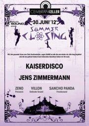 Kaiserdisco @ Summer Closing