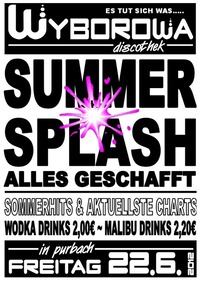 Summer Splash - Alles Geschaft