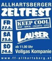 Allhartsberger Zeltfest@Freiwillige Feuerwehr