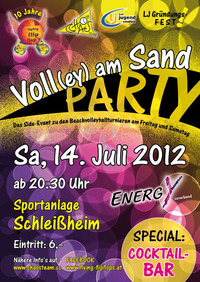 Voll(ey) am Sand
