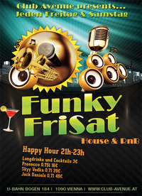 Funky FriSat@Club Avenue