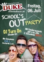 School's Out Party