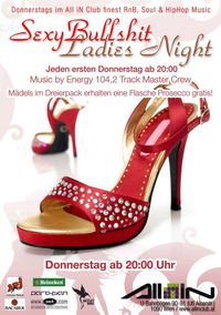SexyBullshit Ladies Night@All iN