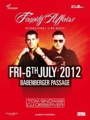 Club Fusion presents Family Affairs@Babenberger Passage