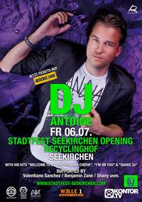 Stadtfest Seekirchen Opening mit DJ Antoine