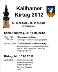 Kallhamer Kirtag 2012