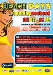 Opening Weekend Beachdays
