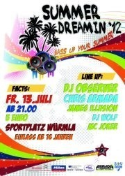 Summerdreamin´12@Sportplatz