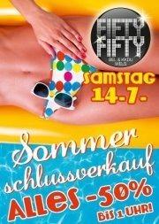 Sommerschlussverkauf - Alles -50% !!!!