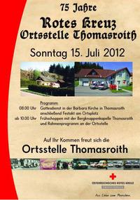 75 Jahre Rotes Kreuz Thomasroith@Tomasroith