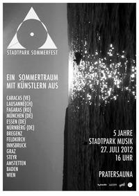 5 Jahre Stadtpark Musik & Stadtpark Sommerfest@Pratersauna