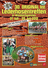 30. Internationales Lederhosentreffen