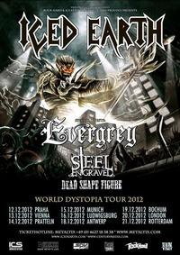Iced Earth - World Dystopia Tour 2012@((szene)) Wien