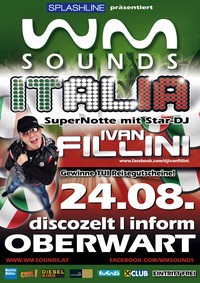 WM-Sounds Italia mit Star-dj Ivan Fillini | Inform Oberwart