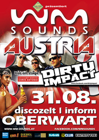 WM-Sounds Austria mit Star-act Dirty Impact | Inform Oberwart