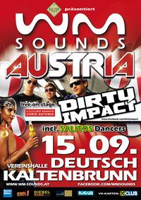 WM-Sounds Austria mit Dirty Impact & Chris Antonio   Deutsch Kaltenbrunn@Vereinshalle