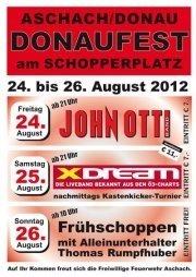 Donaufest am Schopperplatz@Schopperplatz, Aschach an der Donau