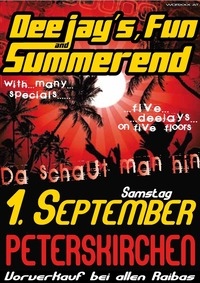 DJ´s Fun and Summerend