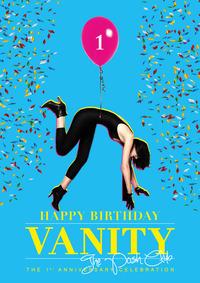 Happy Birthday Vanity - The Posh Club