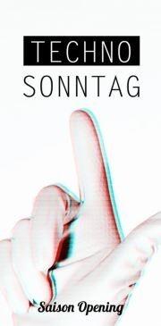 Techno Sonntag - Saison Opening@Badeschiff