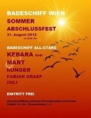 Sommer Abschlussfest@Badeschiff