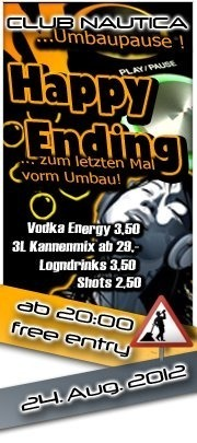 Happy Ending - Umbauparty!