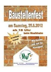 Baustellenfest MV Traismauer@Musikverein Traismauer