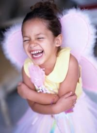 Lächeln, Strahlen, Lachen ... viel und gerne!