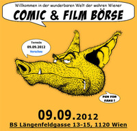 Comic & Film Börse@Berufsschule Längenfeldgasse