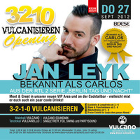 3-2-1-0 Vulcanisieren mit Jan Leyk aka Carlos