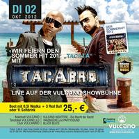 Tacabro live mit den Sommerhit 2012 Tacata