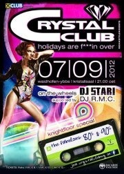 Crystal Club - holidays are fu***n over!