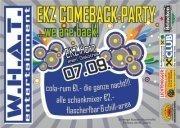 EKZ Comeback Party - we are back!