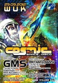 Cosmic mit Gms und Riktam & Bansi
