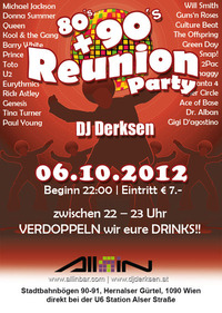80's + 90's Reunion Party @All iN