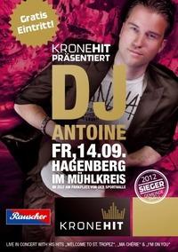 KroneHit Disco mit DJ Antoine