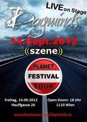 Planet Festival Tour 2012/2013@((szene)) Wien
