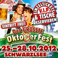 Das größte Oktoberfest Österreichs 2012