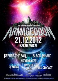 Armageddon 2012 Before The Fall, Black Inhale u.a. @((szene)) Wien