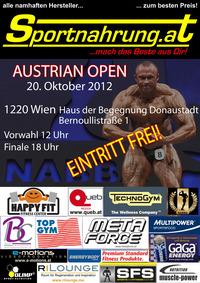 Bodybuilding - Internationales Austrian Open des Verbandes NABBA Austria@Haus der Begegnung Donaustadt