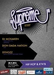 Supreme Stylez starring Dj Mosaken@Warehouse