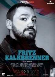 Viermalvier presents Fritz Kalkbrenner@Warehouse