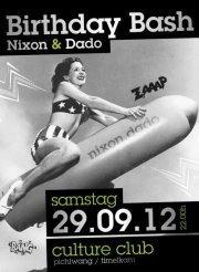 Birthday Bash Nixon & Dado