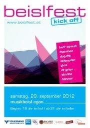 Beislfest [10] Kick Off@Innenstadt