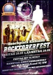 Rocktoberfest @ Beachplatz Rabland@Beachplatz Rabland
