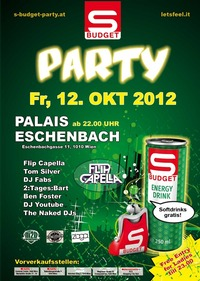 S-Budget Party Vienna - S wie Leiwand