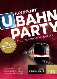 Die 2. KroneHit U-Bahn-Party