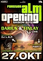 Opening with Darius & Finlay