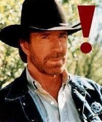 Gruppenavatar von Chuck Norris weiß warum da Stroh liegt!