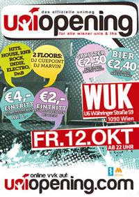 Unimag Uniopening@WUK